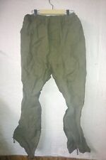 Canadian Army Surplus Rain Pants Rip Stop 70-38 Trousers wet weather