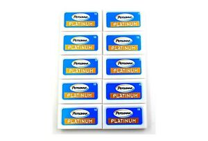 100 Personna Platinum double edge razor blades