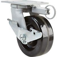 Fairbanks Swivel Double-Locking Caster-5in x 2in #1522225170202