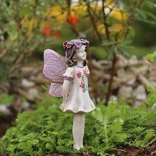 """* Fairy Chloe *  Miniature Fairy Garden Dollhouse 3"""" Tall NIB"""