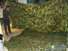 SURPLUS harbourage SINGLE FOLIAGE CAMOUFLAGE NET WOODLAND CAMO -200 CM * 300 CM