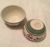 2 - Home Villa Scroll Soup Cereal Bowls
