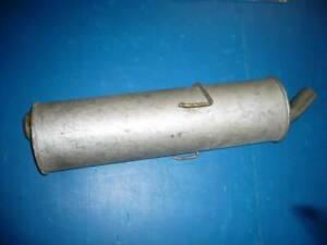 Silencer Rear Bosal For Peugeot 205 (1726.09/12298/4695)