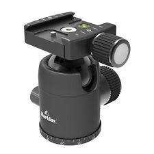 Markins Camera Tripod Ball Head Q3i-Tr Traveler Black w/ Knob Quick Shoe