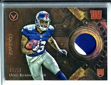 2014 Topps Valor Odell Beckham Jr. *Rookie* Courage Relic D # 09/50 N.Y. Giants
