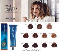 Wella Professional Koleston Perfect Hair Color Dye Tint - DEEP BROWNS 60 ml