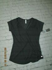 Nwt Ideology Ss Ki Cool essential tee Very thin & Packable in deep charcoal, S