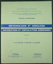 SFA : METEOROLOGIE ET AEROLOGIE & NAVIGATION - BREVET INITIATION AERONAUTIQUE