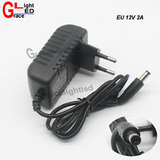 1pc AC100-240V To DC 12V 2A Power Supply Adapter Transformer for LED Strip CCTV