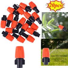 20pcs Micro Drip Irrigation Nozzle Water Sprayer Garden Plants Hose Sprinklers