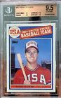 Mark McGwire 1985 Topps USA Rookie Card RC #401 BGS 9.5 GEM MINT!!! CENTERING 10