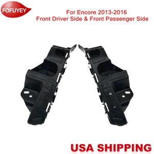 Bumper Reinforcement Mount Bracket One Pair Front for Buick Encore 2013-2016