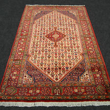 Orient Teppich Beige 163 x 110 cm Rot Perserteppich Alt Old Red Carpet Rug Tapis