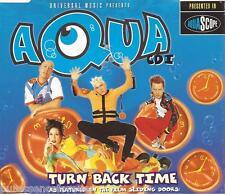 AQUA - Turn Back Time (UK 5 Track CD Single Part 1)