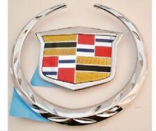 Cadillac CTS-V 2009 2010 2011 2012 2013 Rear WREATH & CREST Emblem!!