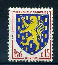 FRANCE 1962 timbre 1354, Armoiries Nevers, neuf**