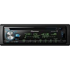NEW Pioneer Car Audio CD Head Unit.Receiver.Single Din.AMFM.Remote.USB.Marine.BT