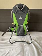 Deuter Kid Comfort Air Baby Child Backpack Carrier, inc Sun & Rain Hood