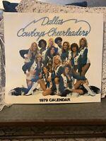 Dallas Cowboys Cheerleaders 1979 Calendar Vintage