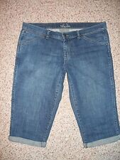 Old Navy The Diva Cropped Jeans Size 8 Regular Stretch Low Rise