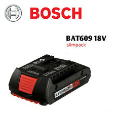 Genuine and New Bosch BAT609 18V Li-Ion Battery w/Factory Warranty