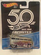 HOT WHEELS 2018 50th Favorites Volkswagen T1 Drag Bus NEW & SEALED