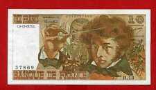 (Ref: H.13) 10 NF BERLIOZ  6/12/1973 ALPHABET  RARE  (TTB+)