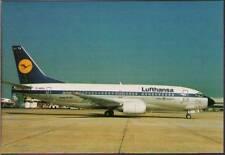 (wn6) Airplane Postcard: Lufthansa, Boeing 737-330
