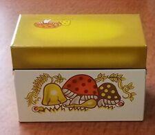 New listing Vintage 70's Mushroom Recipe Syndicate Mfg. Box