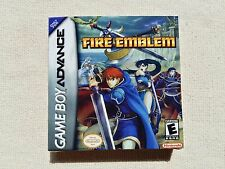 GB Advance Fire Emblem, GBA Custom Art case only, no game included