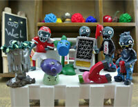 8pcs Plants vs. Zombies Action Figures Collection Toy Gift Cake Topper Style