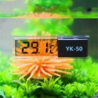 UK LCD Digital Waterproof Fish Aquarium Meter Water Tank Temperature Thermometer