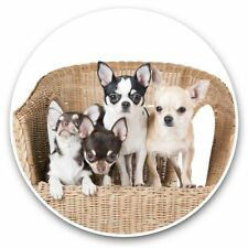 2 x Vinyl Stickers 30cm - Chihuahua Puppies Dogs Puppy Dog  #44581