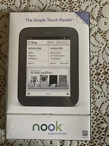 Barnes & Noble Nook 1st Edition 2GB, Wi-Fi, 6in - White/Gray