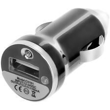 Black USB Car Charger Adapter for HTC Windows 8X 8S Droid Incredible 2 4G LTE