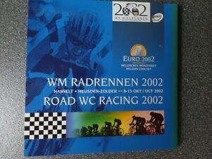Belgien KMS 2002 - WM Radrennen , im Folder , original