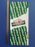 PUB ANCIENNE ADVERT CLIPPING - CLUB HOLLYWOOD Chewing-gum
