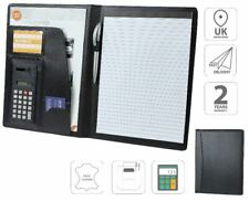 A4 Conference Folder With Calculator Business File Portfolio Pad FI6510
