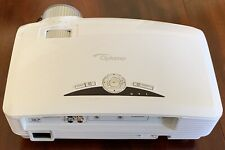Optoma HD20 1080P DLP Projector — used only 27 hrs!