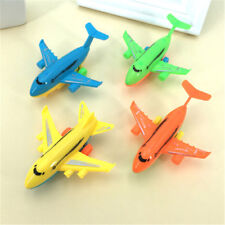 2Pcs Durable Air Bus Airplane Model Toy Pull Back Planes Kids Vehicles Gift RDR