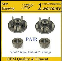 FRONT Wheel Hub & Bearing Kit For HYUNDAI SONATA L4 2.4L 2006-2013 PAIR