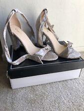Womens Shoes Qupid Goodney Champagne Velvet Size 7 NEW