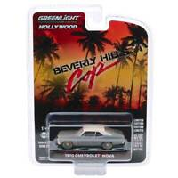 "Greenlight Hollywood Series 27: 1970 Chevy Nova ""Beverly Hills Cop"" 1/64 Scale"
