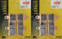 Yamaha YZF 1000 R1 2007 - 2014 Sintered SBS front brake pads SBS839 HS
