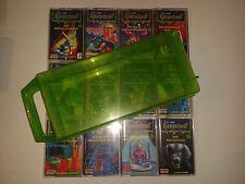 Gänsehaut Kassetten in grüner Box MC Folge 1 2 3 4 5 6 7 8 9 10 11 12 Hörspiele