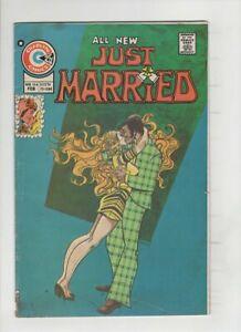JUST MARRIED #104 VG+, Joe Staton cover, Art Cappello art, Charlton 1975