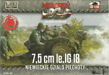 First To Fight 1/72 (20mm) 7.5cm le IG-18 infantry Gun (DS Wheels) and Crew