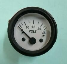 772995M91 Voltmeter Gauge for Massey Ferguson Tractor 52 mm 12V fit in MF 230 240 243 250 253 263