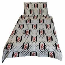Fulham FC Official Design Singe Duvet Cover & Pillowcase Set