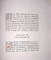 °Un des 370 sur Rives Ill. C. LEPAPE - Marcel AYMÉ: Travelingue, NRF 1945
